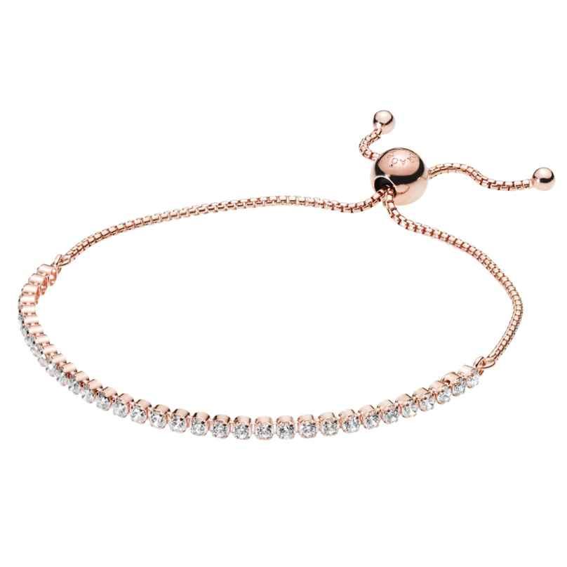 Pandora 580524CZ Rose Damen-Armband Sparkling Strand