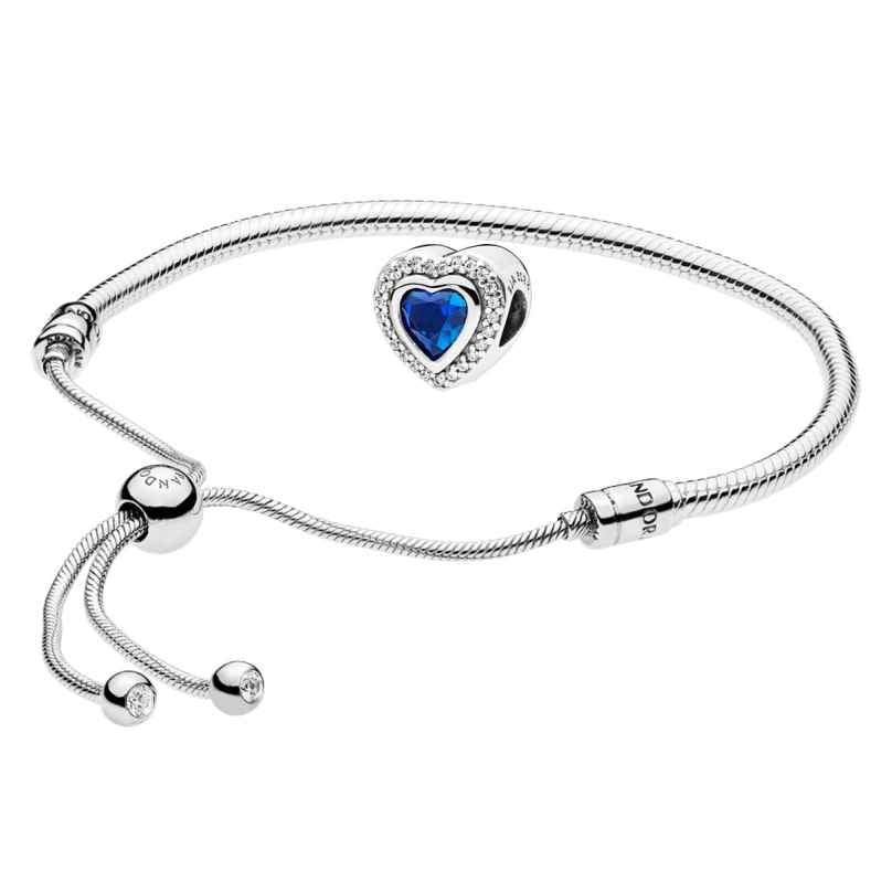 Pandora 08661 Armband-Set Moments Sliding und Sparkling Love 4260497086611