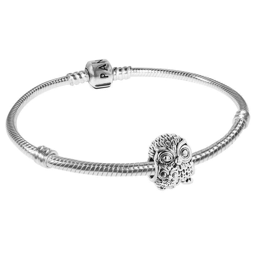 Pandora 75616 Armband Eulenfamilie Silber 925