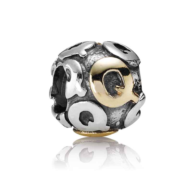 Pandora 790298Q Buchstabe Q Silber-Charm 5700302005189