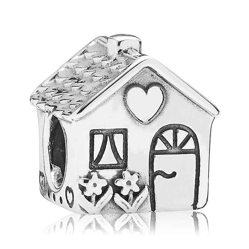 Pandora 791267 Silber Charm Familienhaus 5700302224856