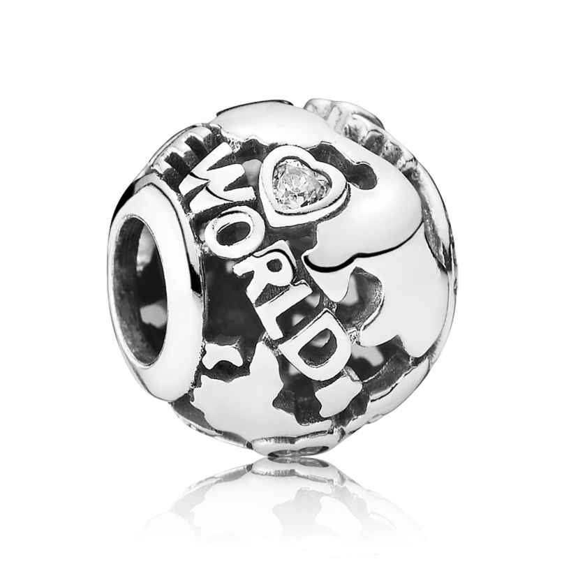 Pandora 791718CZ Bead Around the World 5700302357905