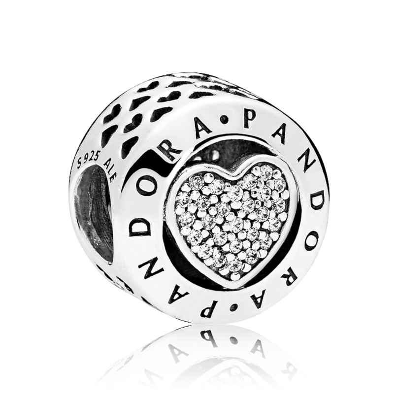 Pandora 796218CZ Charm Logo Herz 5700302587029