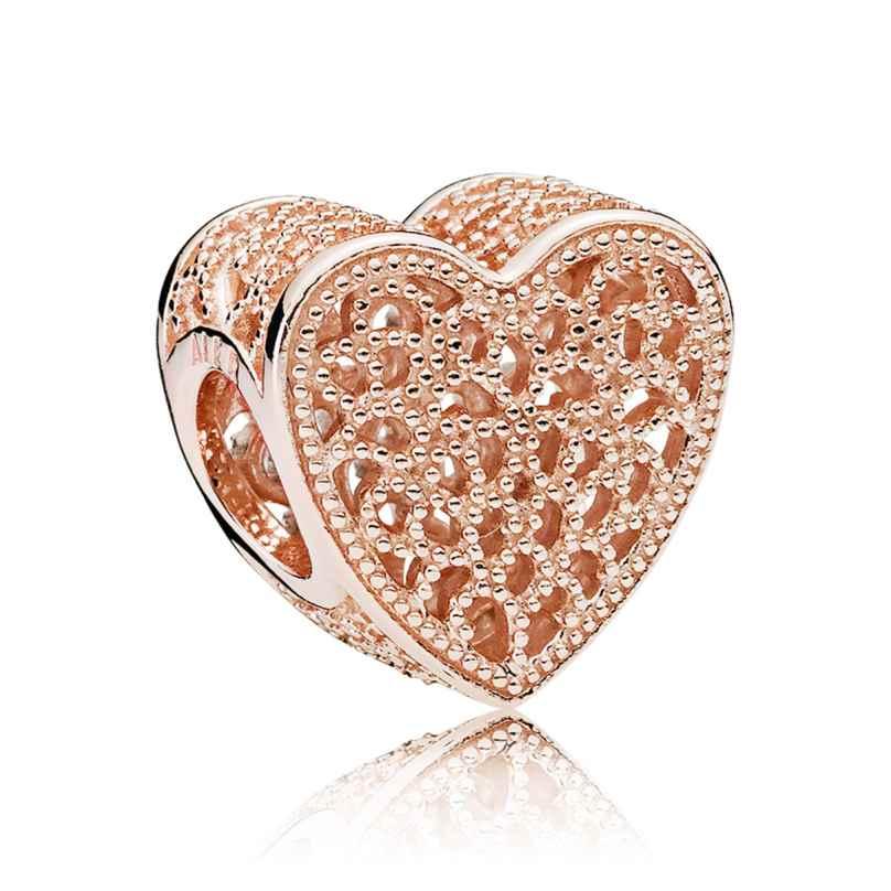 Pandora 781811 Charm Ewige Liebe Rosé 5700302551242