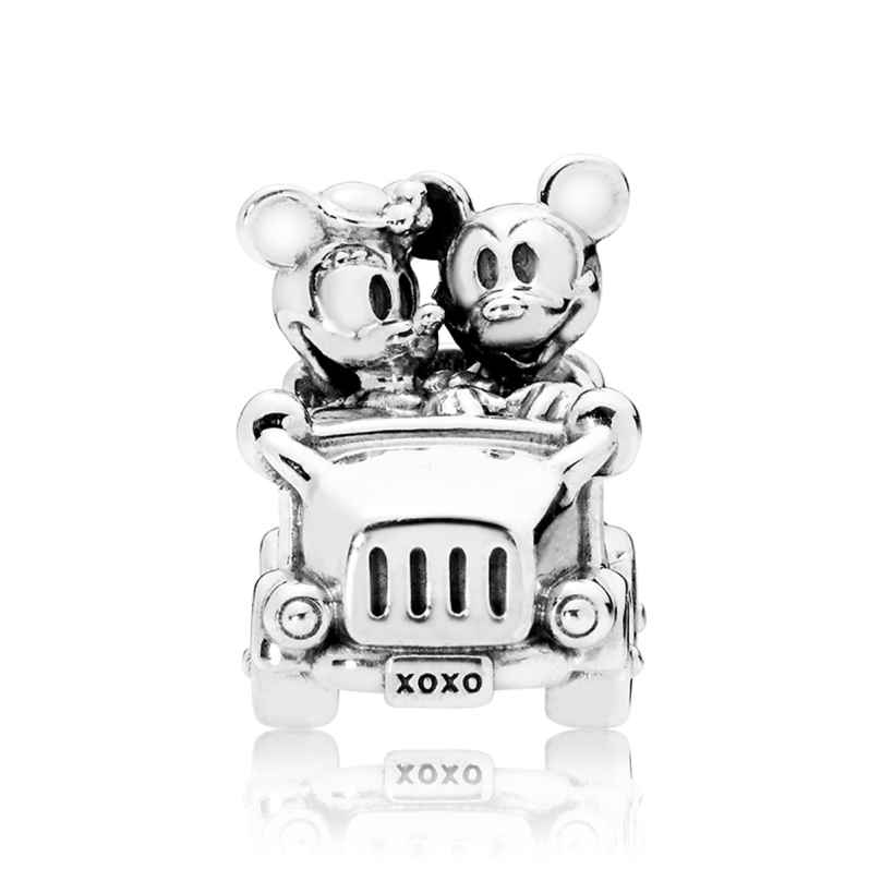 Pandora 797174 Charm Mickey and Minnie Vintage Car 5700302660616