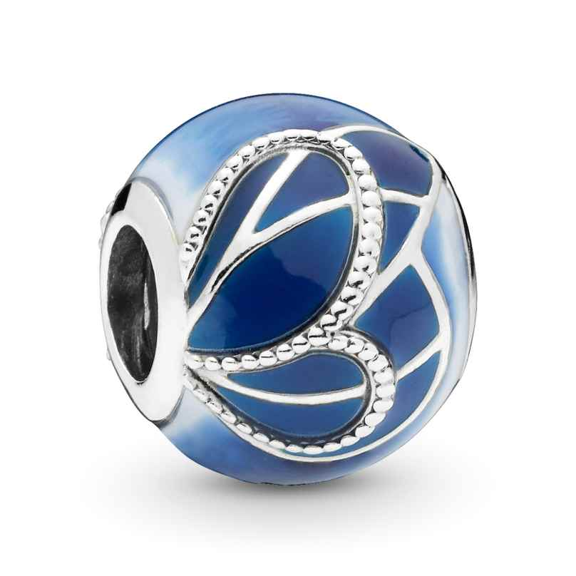 Pandora 797886ENMX Silber Charm Blue Butterfly Wing 5700302765298