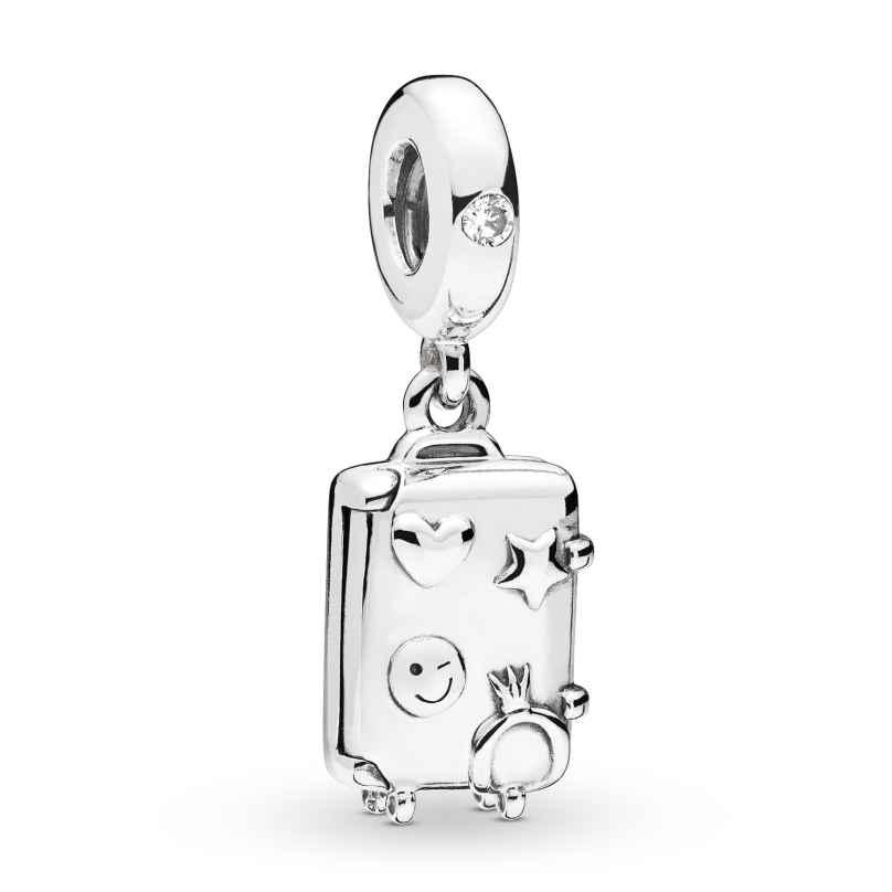 Pandora 797887EN160 Silber Charm-Anhänger Suitcase 5700302765304