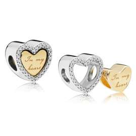Pandora 767606CZ Shine Charm In My Heart