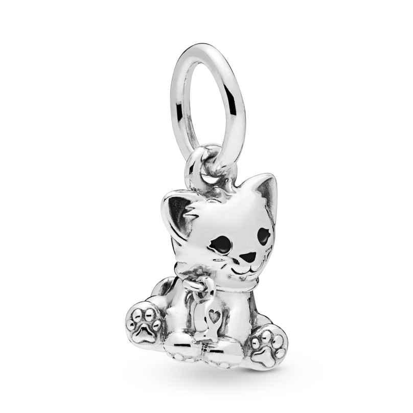 Pandora 798011EN16 Charm Pendant Sweet Cat 5700302775815