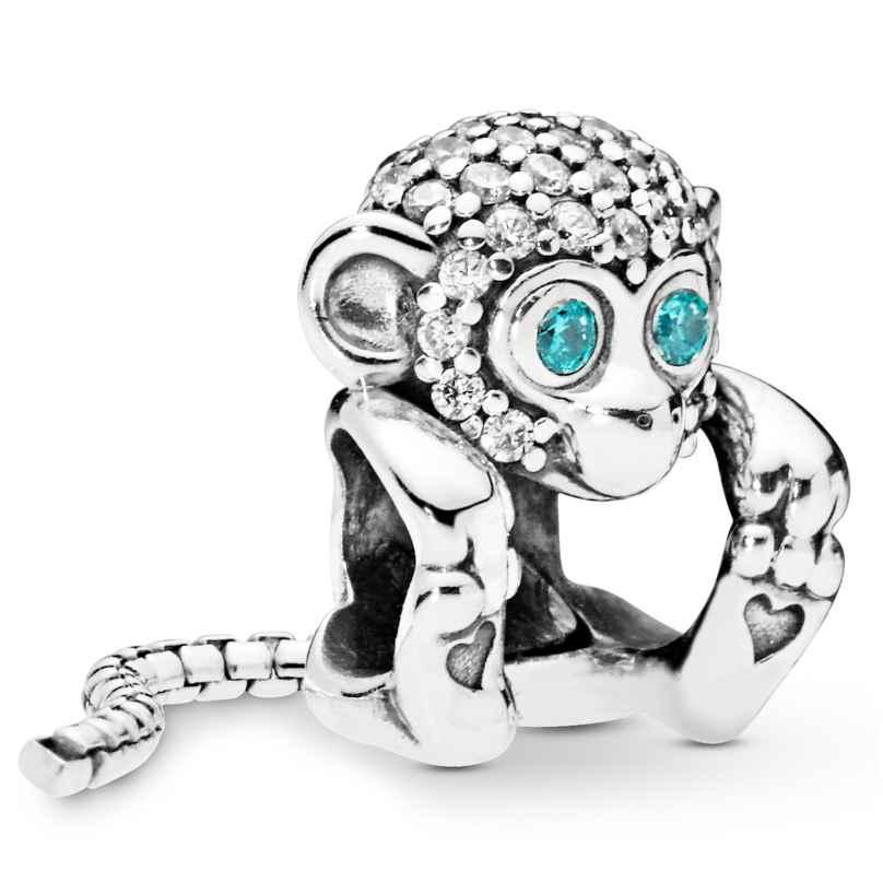 Pandora 798054CZ Charm Sparkling Monkey 5700302776027