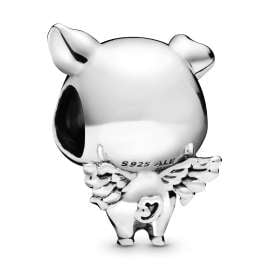 Pandora 798253 Silver Charm Pippo the Flying Pig
