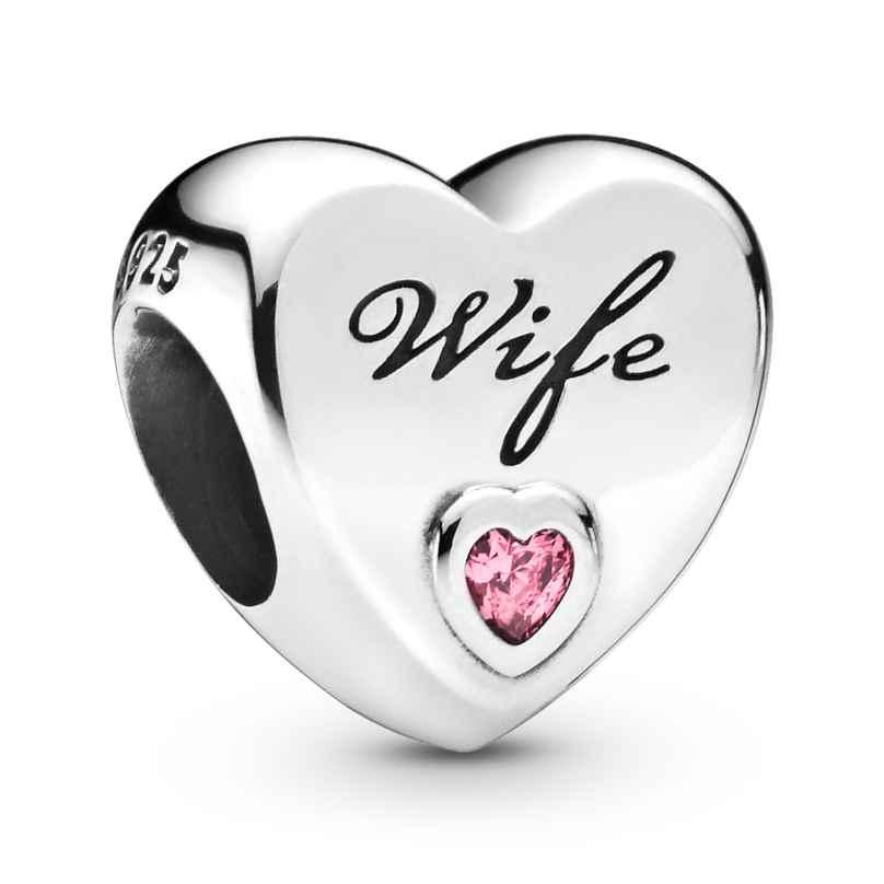 Pandora 798249PCZ Charm Wife Love Heart 5700302817034