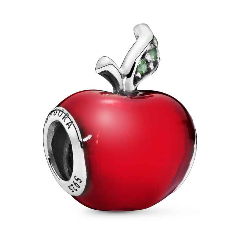 Pandora 791572EN73 Silber Charm Schneewittchens Roter Apfel 5700302338942