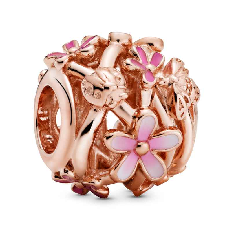 Pandora 788772C01 Rose Bead-Charm Pinke Gänseblümchen 5700302864182