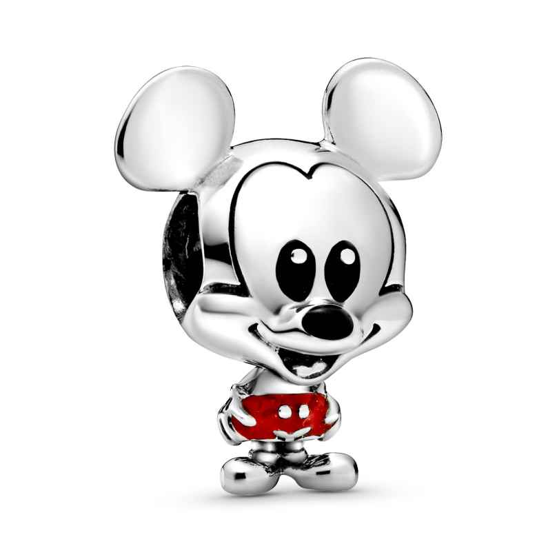 Pandora 798905C01 Silber Charm Disney Micky Maus Baby in roter Hose 5700302869668