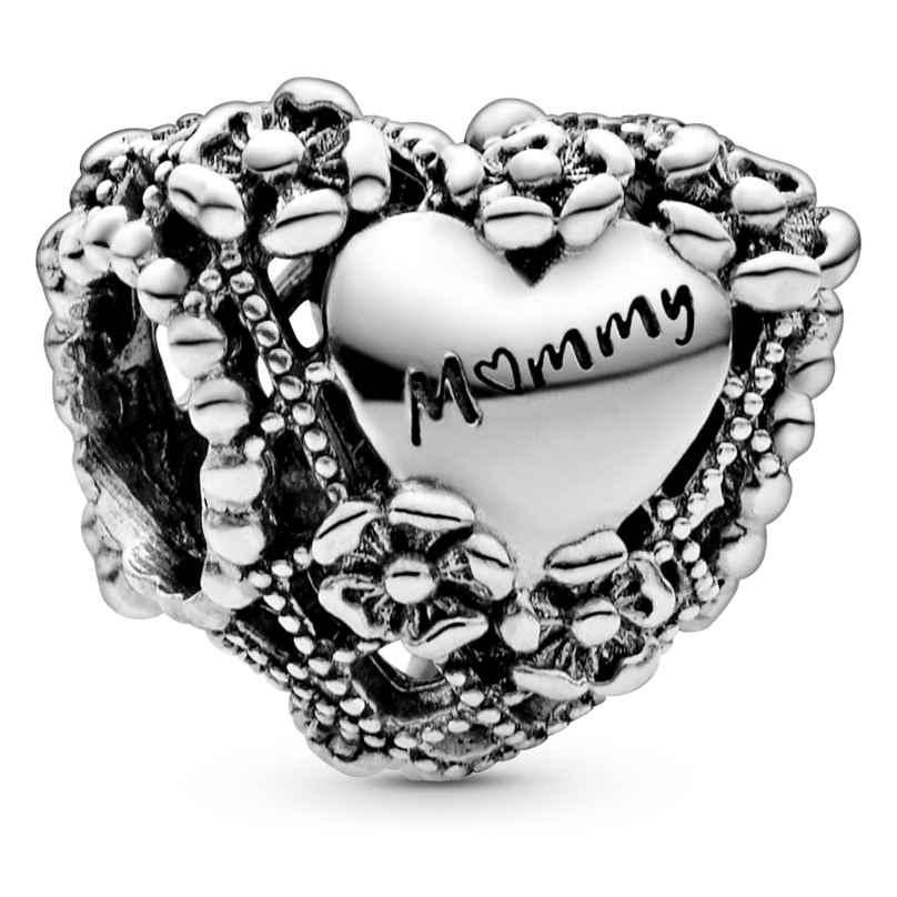 Pandora 798892C00 Silber Bead-Charm Blumenherz Mummy 5700302868821