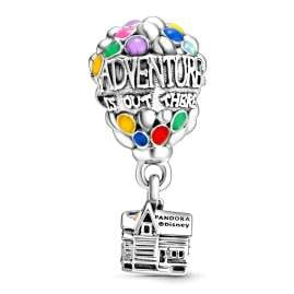 Pandora 798962C01 Silver Charm Disney Up House & Balloons
