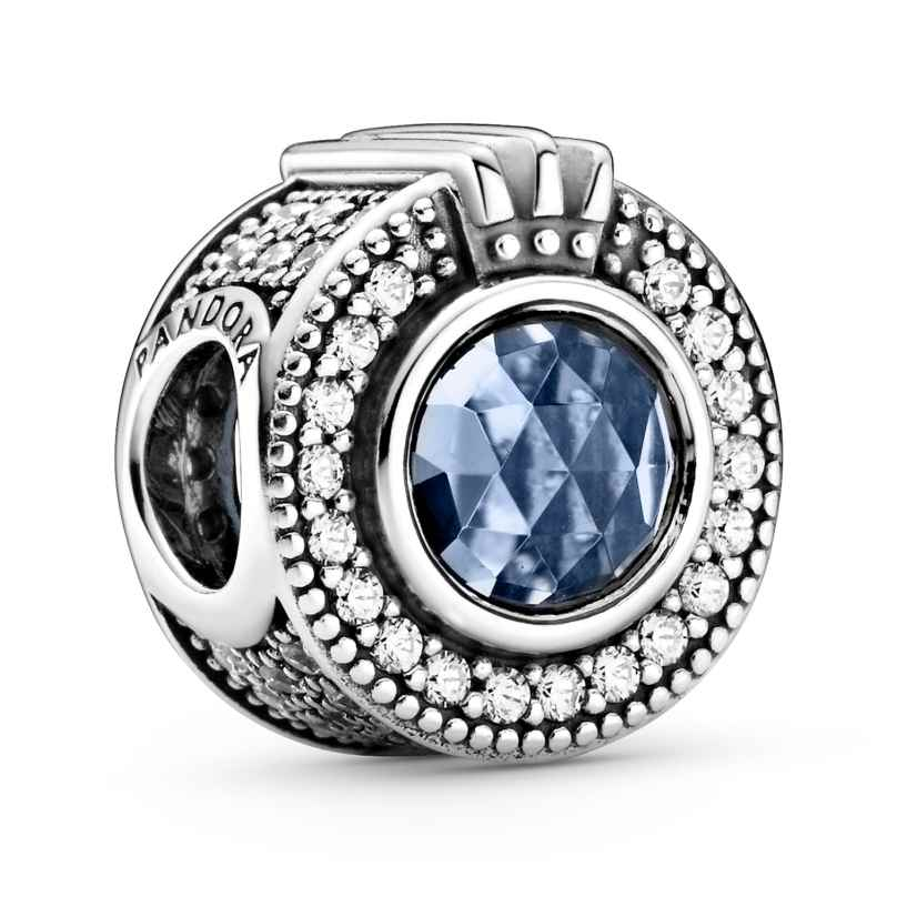 Pandora 799058C01 Charm Funkelndes blaues Crown O Silber 5700302887389