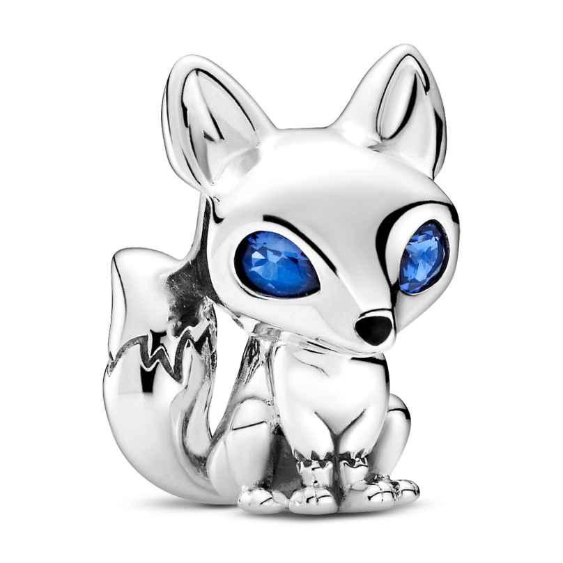 Pandora 799096C01 Silber Charm Blauäugiger Fuchs 5700302895711