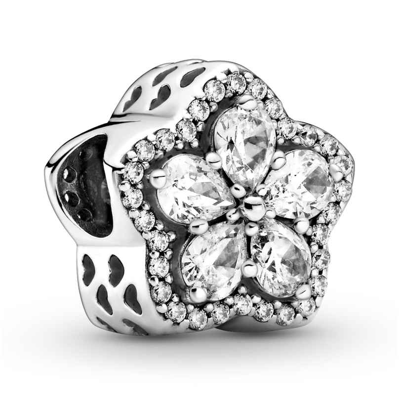 Pandora 799224C01 Charm Funkelnde Blume Pavé Silber 5700302900491
