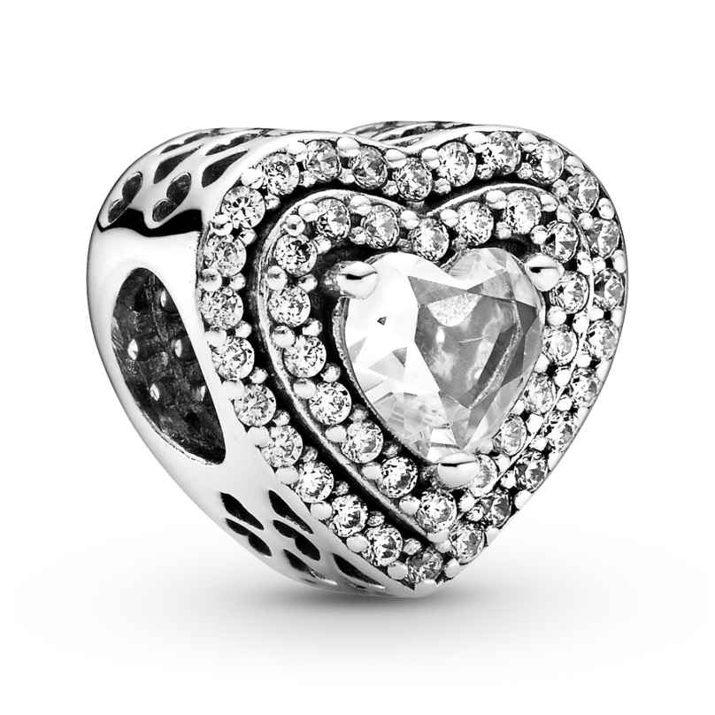 Pandora 799218C01 Charm Funkelnde Herzen Silber 5700302900453