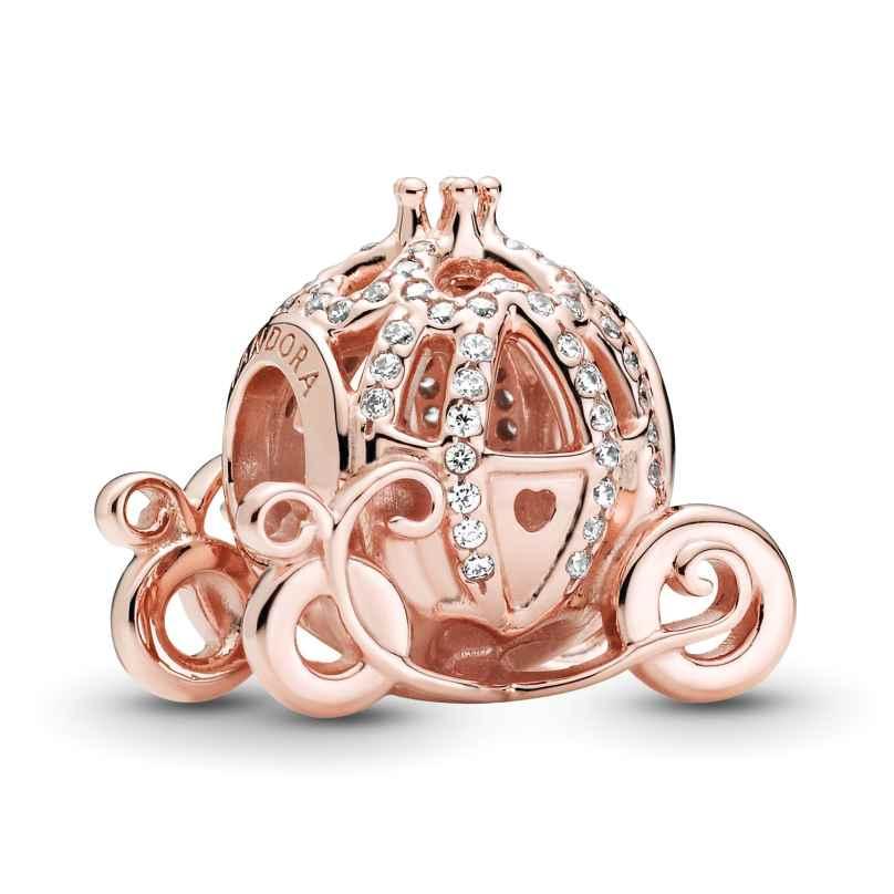 Pandora 789189C01 Rose Charm Cinderella Kürbis-Kutsche 5700302900170