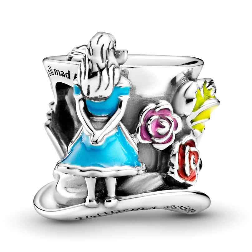 Pandora 799348C01 Silber Charm Alice im Wunderland Hutmacher's Teeparty 5700302916775