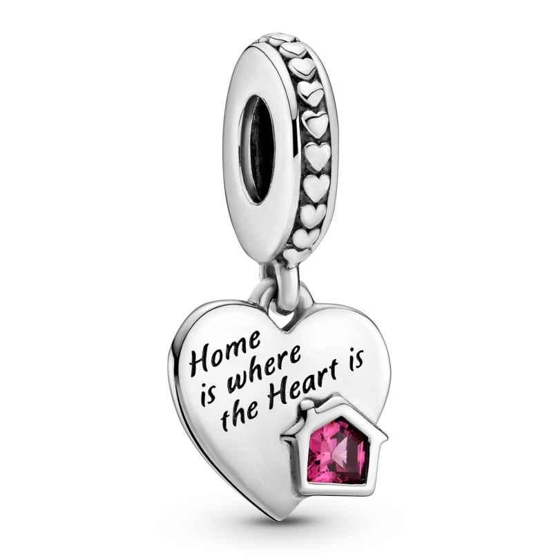 Pandora 799324C01 Silber Charm-Anhänger Love my Home Herz 5700302916614