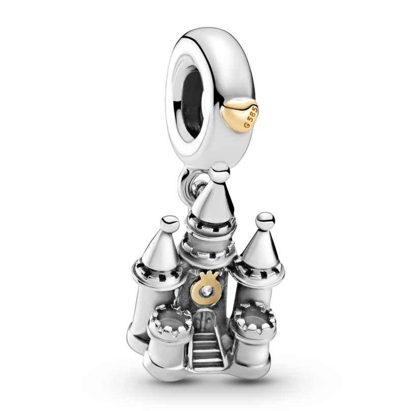 Pandora 799337C00 Silber Charm-Anhänger Zweifarbiges Schloss 5700302916713