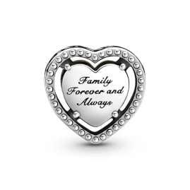Pandora 799413C01 Silber Charm Herz & Familienbaum