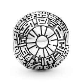 Pandora 799513C00 Silber Clip Charm Todesstern