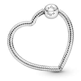 Pandora 399505C00 Charm-Halter Silber Herz
