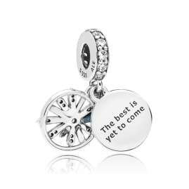 Pandora 08695 Necklace with Charm Dazzling Wishes