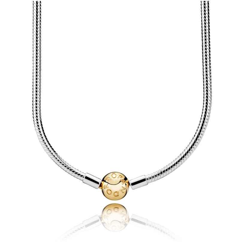 Pandora 368004 Halskette Moments Silber & Shine