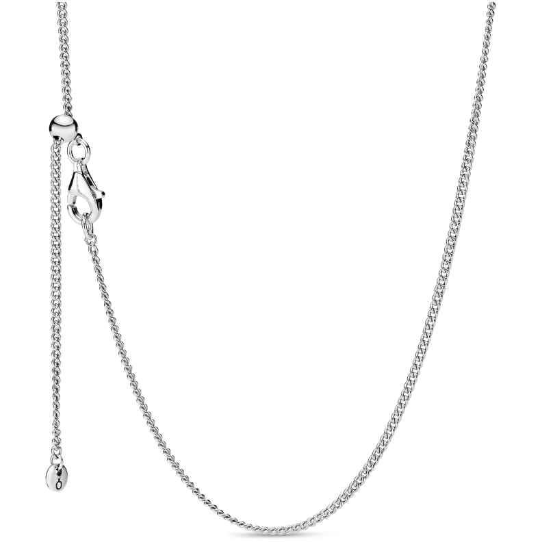 Pandora 398283-60 Damen-Halskette Curb Chain 5700302818505