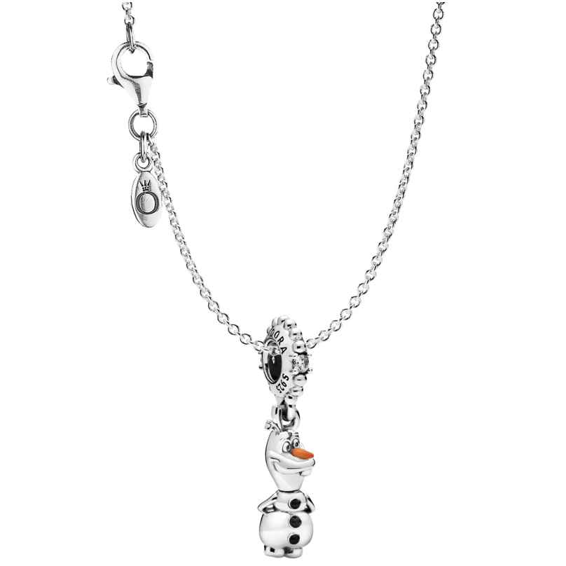 Pandora 75644 Necklace Disney Frozen Olaf 4260641756445
