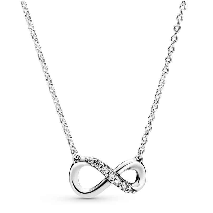 Pandora 398821C01-50 Damen-Halskette Funkelnde Unendlichkeit 5700302863765