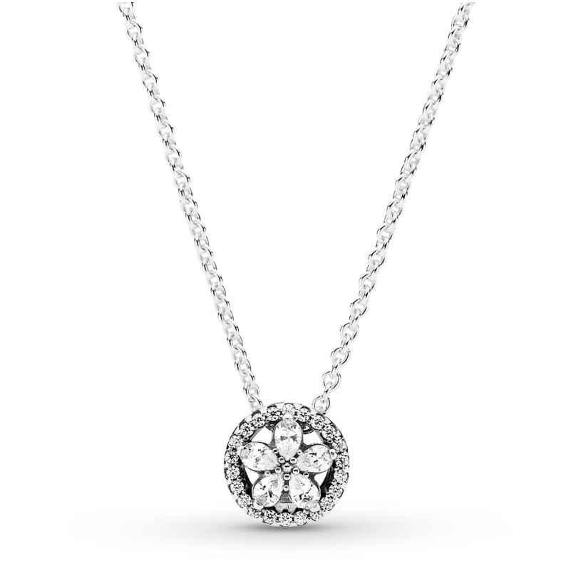 Pandora 399230C01-45 Damen-Kette Funkelnde Schneeflocke Silber 5700302899948
