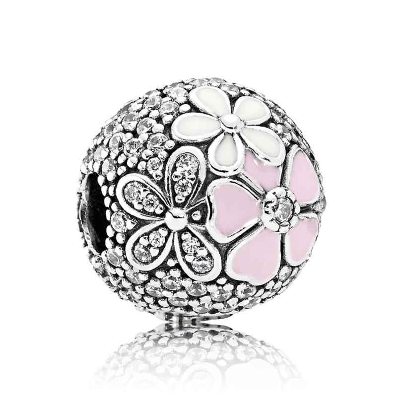 Pandora 792084CZ Clip-Element Malerische Blüten 5700302548754