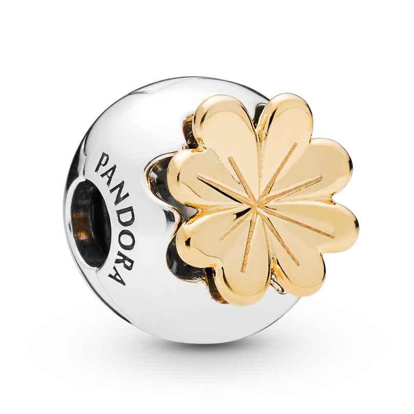 Pandora 768000CZ Shine Clip-Element Shining Clover 5700302766394