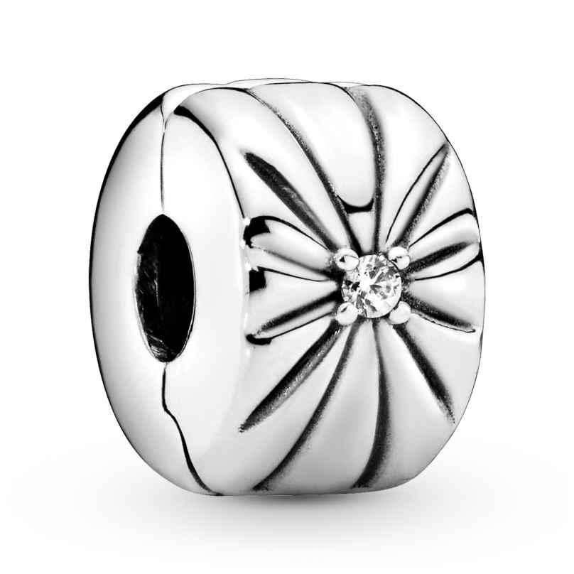 Pandora 798614C01 Silber Clip-Element Sparkling Sunburst 5700302841794