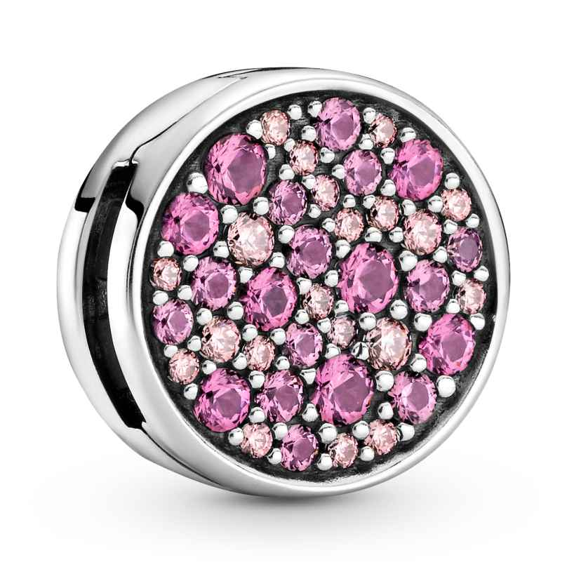Pandora 799362C01 Reflexions Pink Pavé Clip Charm Limited Edition 5700302916843