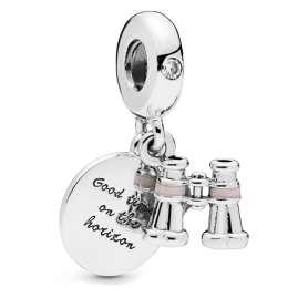 Pandora 798062CZ Charm Pendant Heart Binoculars
