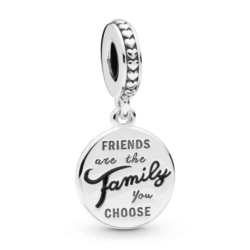 Pandora 798124EN16 Charm Dangle Friends Are Family 5700302795196