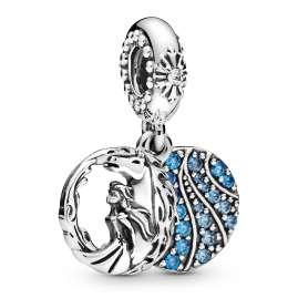 Pandora 798456C01 Silber Charm-Anhänger Disney Frozen Elsa und Nokk