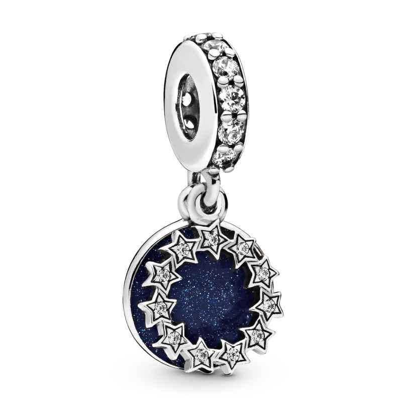 Pandora 798433C01 Silber Charm-Anhänger Inspirierende Sterne 5700302826630