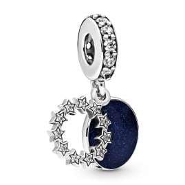 Pandora 798433C01 Silver Charm Pendant Inspirational Stars
