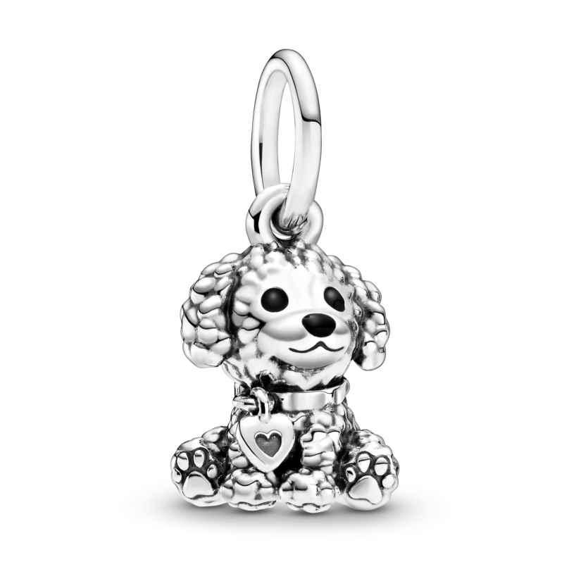 Pandora 798871C01 Silber Charm-Anhänger Pudel Hundewelpe 5700302868814
