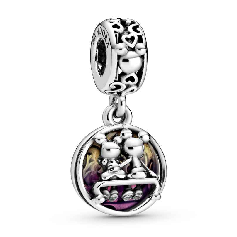 Pandora 798866C01 Dangle Charm Mickey & Minnie Happily Ever After 5700302869491