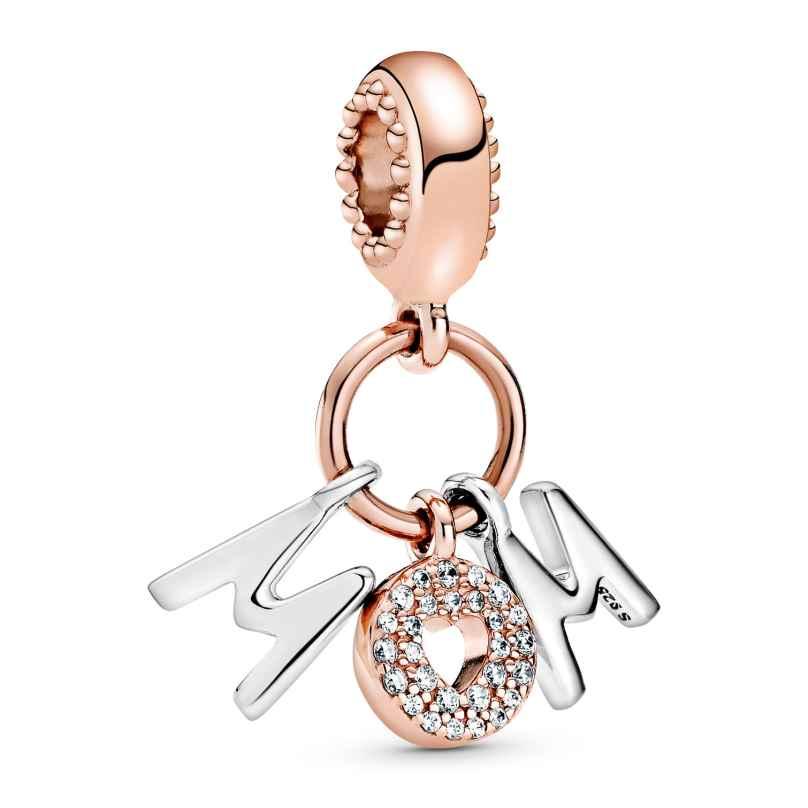 Pandora 788828C01 Rose Charm-Anhänger Buchstaben Mum 5700302864236